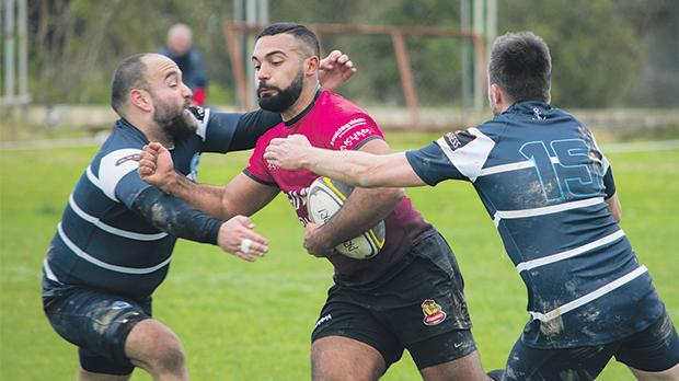 Stompers hit back in the second half to beat Overseas in a league match. Photo: Zara Ameen