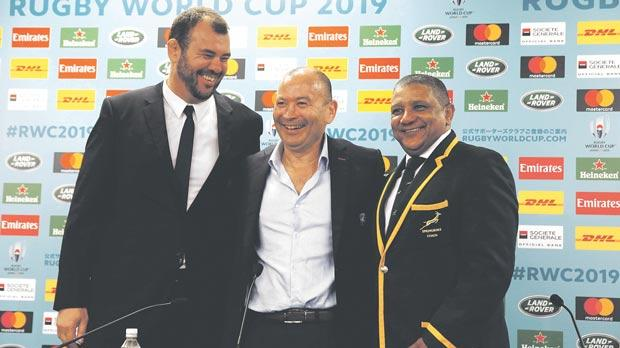 Wallabies await Rugby World Cup draw