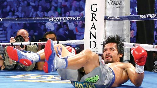 manny pacquiao reaction paper Don't know how i feel about that @mannypacquiao has him on the ropes in the  9th need a rematch #pacquiaovshorn #homecookin.