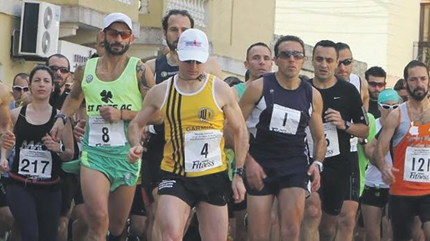 Participants at the start of last year's Dingli 10 race.