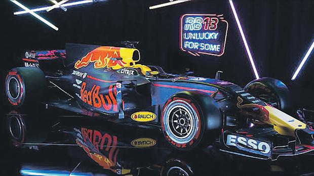 The new RB13 car was launched yesterday.