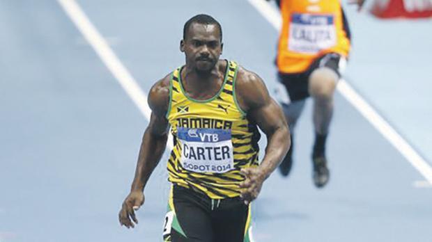 Jamaican sprinter Nesta Carter.