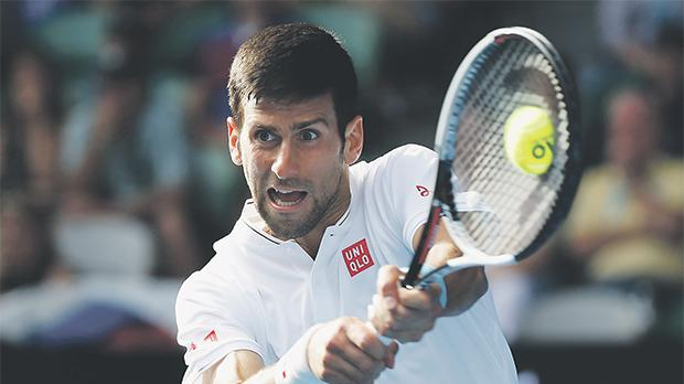 Novak Djokovic will lead Serbia in this weekend's Davis Cup tie against Russia.