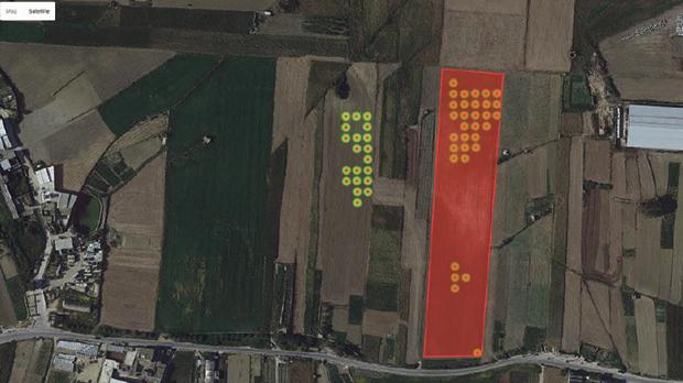 Satellite data shows that field was ploughed in late April 2016. Same field was planted during summer 2015 and the crops had few weeks left to reach maturity.