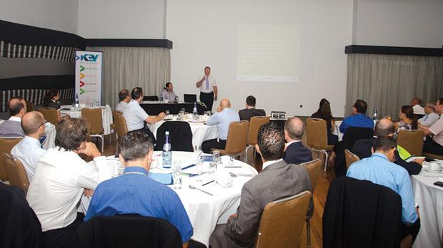 The business breakfast highlighted the importance of business continuity management.