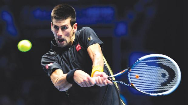 Novak Djokovic... 100 per cent record after two group matches.