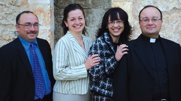 The siblings... Jesmond, Josette, Monica and Charles.