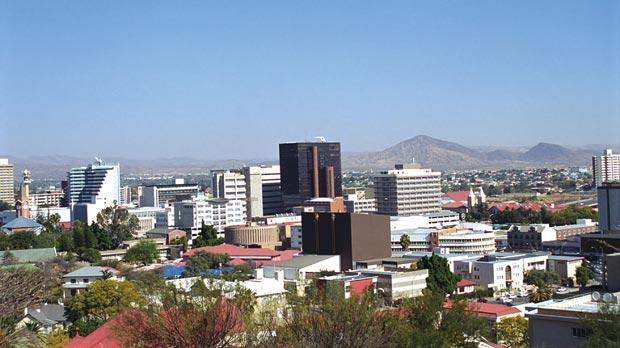 Capital city Windhoek. Photo: Attila Jandi