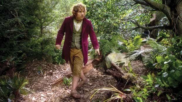 Martin Freeman as Bilbo Baggins in Peter Jackson's upcoming film.