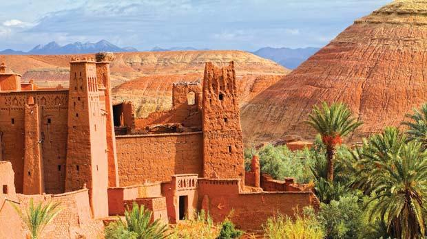 The 900-year-old kasbah Ait Ben Haddou has been used as a set for dozens of films.