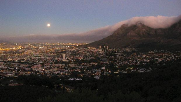 Cape Town after sunset. Photo: Stephen Bailey