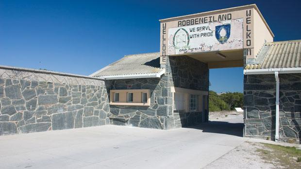 Robben Island, where Nelson Mandela was held captive.