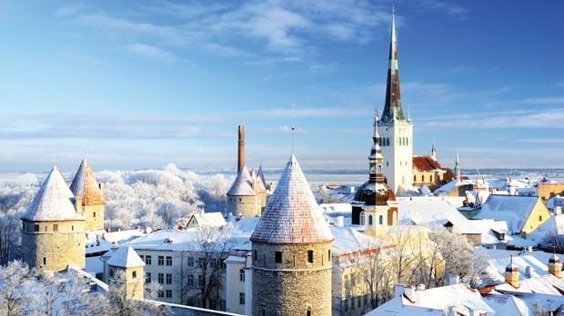 Try a winter city break in the Estonian capital Tallinn.