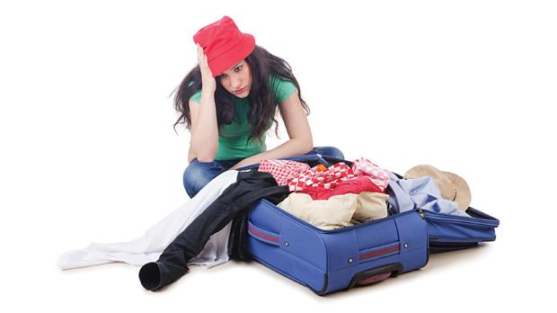 Carrying all your worldly possessions in one bag can be a daunting prospect.