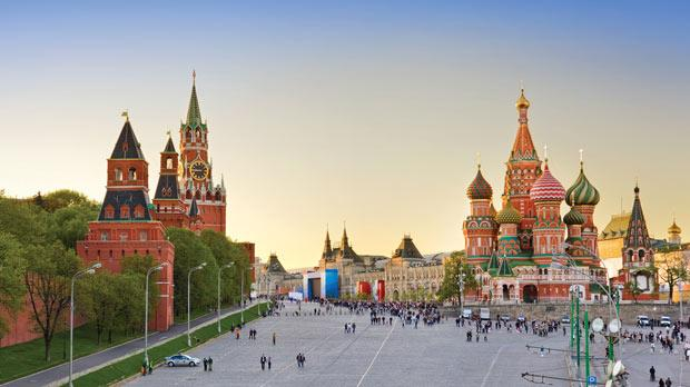 Moscow's audacious Red Square.