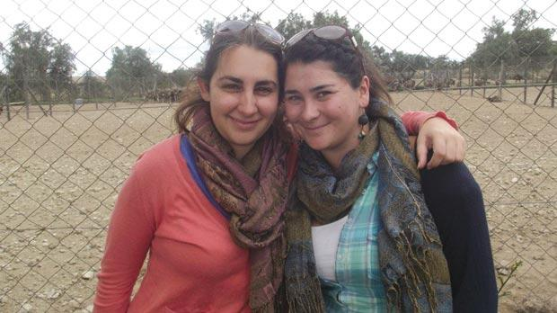 Sara Darmanin and Claudia Barona Padovani in Kenya.