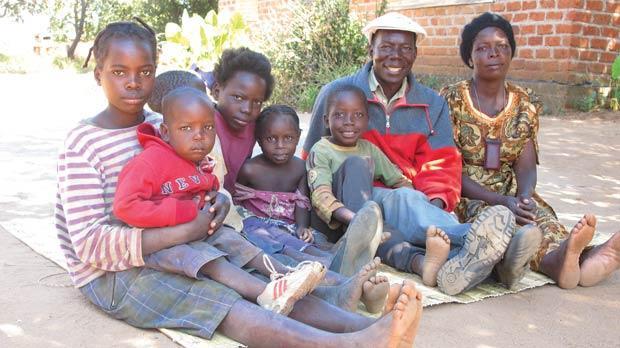 Tikondane is a community centre in Zambia.