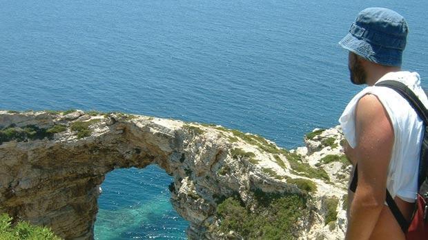 Corfu's very own azure window.
