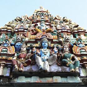 Chidambaram's Sabhanayaka Temple. Photo: Hannah Wayte