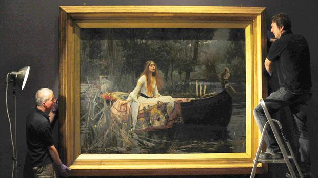 The Lady Of Shalott Voted Favourite Artwork