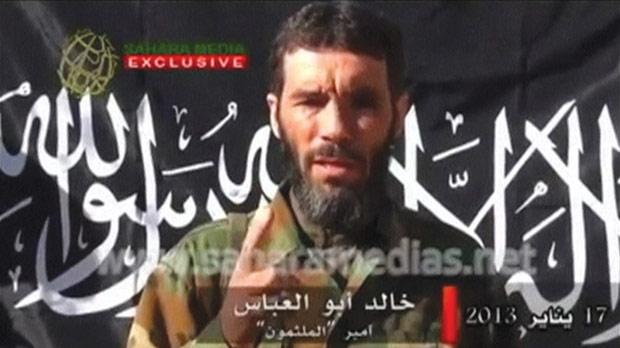 Veteran jihadist Mokhtar Belmokhtar in an undated still image taken from a video released by Sahara Media in January. Photo: Reuters
