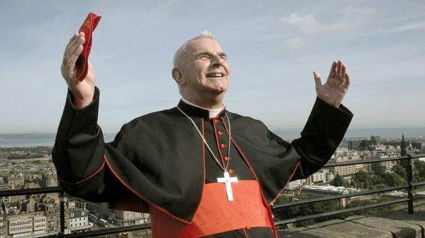 Britain's only cardinal elector, Archbishop Keith O'Brien, who was due to have voted for the next Pope. Photo: AP