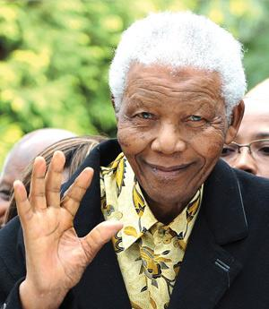 Nelson Mandela. Photo: AFP