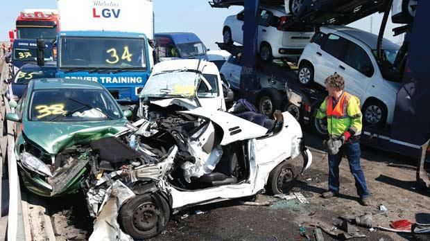 Myrtle Beach Accident Truck