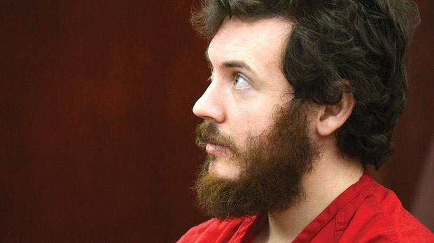 Accused Aurora Theatre shooting suspect James Holmes listens at his arraignment in Centennial, Colorado, yesterday. Photo: Reuters