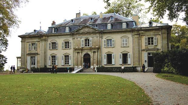 Chateau Ferney, Voltaire's home near Geneva, Switzerland.