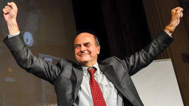 Pier Luigi Bersani's Democratic Party was most popular with 35.3 per cent of voting intentions.