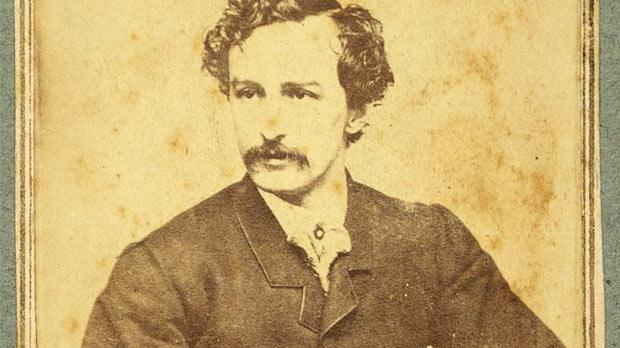 US actor John Wilkes Booth, who assassinated Abraham Lincoln.