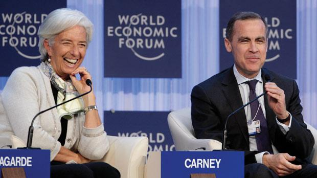 Image result for mark carney, christine lagarde