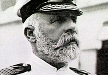 Captain Edward Smith who went down with his ship.