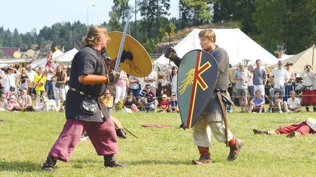 Marauding Vikings' image dispelled
