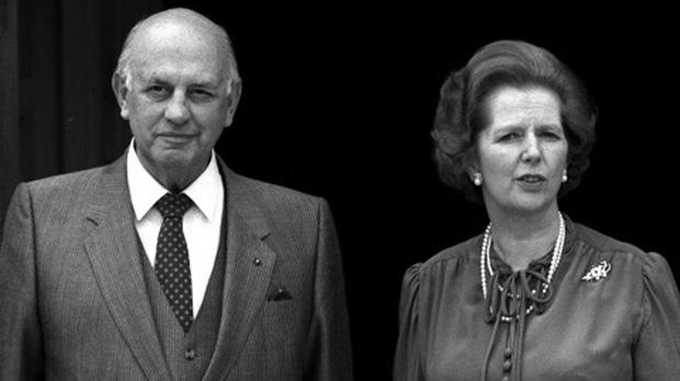 Thatcher relegated Mandela's release from prison to a short, private chat with South African prime minister Pieter Willem Botha in June 1984.
