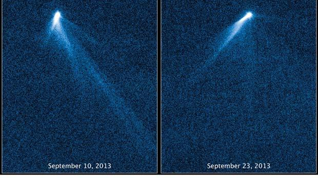 Astronomers dumbfounded by six-tailed asteroid