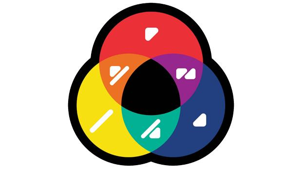 The colour identification system known as ColorAdd.